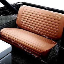 Housse banquette arrière CJ-YJ Wrangler/Rear bench seat cover CJ-YJ