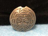 Northwest Coast Native (Haida) Pewter Bead