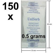 150 x 0.5gm USFDA Food Grade Silica Gel Desiccant Moisture Absorber dessicant