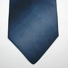 NEW Wembley Silk Neck Tie Dark Blue Navy with Gradient to Light Blue 429