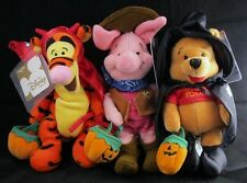 DISNEY Witch Pooh Cowboy Piglet Devil Tigger Bean Bag Doll Plush NEW MBBP
