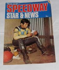 SPEEDWAY Star MAGAZINE & News W / E 8 Mai 1971