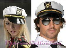 Sailor Hat Cap Mens Ladies Fancy Dress Halloween Costume Adjustable To Fit  All