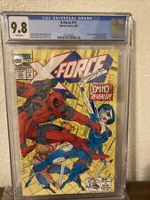 """X-Force 11 cgc 9.8 First Appearance of the """"Real"""" Domino Key Issue Deadpool"""