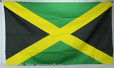 Big 1.5 Metre Jamaican Large New Flag 3x5ft Jamaica