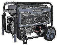 Pulsar G12KBN 12000W Dual Fuel Portable Generator - Space Gray