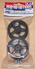 Tamiya 53335 Reinforced One-Piece Spoke Wheels (1 Pair) TT01/TT02/TL01/TA01/TA02