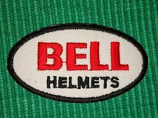 Bell Helmets Motorcycle Racing Biker Iron/ Sew-on Embroidered Patch/ Badge/ Logo