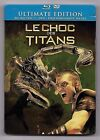 BLU-RAY DISC + DVD / LE CHOC DES TITANS / BOITIER METAL ULTIMATE EDITION