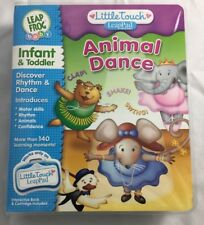 """Little Touch LeapPad Frog Animal Dance Infant Toddler Book & Cartridge       """"C"""""""
