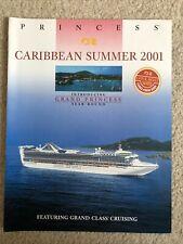 Princess Cruises Caribbean Brochure 2001 Grand Princess