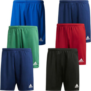 Adidas Mens Shorts Parma 16 Climalite Sports Football Running Short Size
