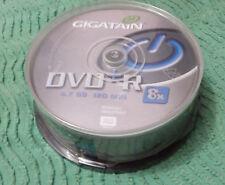PACK 25 DVD+R 4,7 GO GIGATAIN 8x 2 heures NEUF
