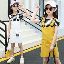 Niños Niñas Sets de ropa ienens Prendas para el torso + Vestidos Algodón Tops Informales Ropa