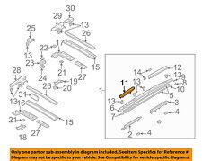 MAZDA OEM 02-03 Protege5 ROOF-Rail assy cap Left B25H51T22B