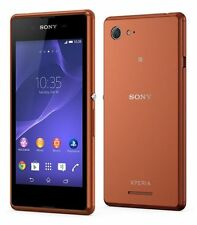 Sony Xperia E3 Copper Braun D2203 LTE WIFI Android Smartphone Ohne Simlock NEU