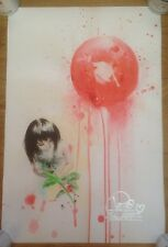 Lora Zombie - Red Sun hand signed by artist
