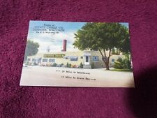 1951 Steve's Cheese Co Denmark Wisconsin Hwy 141 Vintage Advertising  Postcard