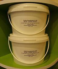 ZEOLITE ATTIVATA -Zeolith pulver ultrafeinen- ULTRA FINE - <20 MICRON (µm) 3 kg