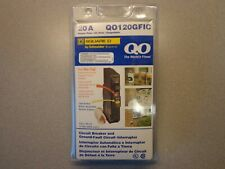 Square D QO Qwik-Gard 20 Amp Single-Pole GFCI Circuit Breaker factory sealed