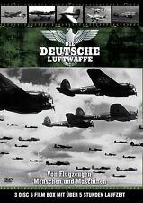 LA FUERZA AEREA ALEMANA Geschichte BF109 JU87 Stuka 2. Weltkrieg 3 Caja de DVD
