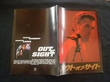 "1998 George Clooney, Jennifer Lopez "" Out of Sight "" Japanese Movie Program"