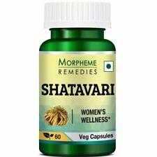 Morpheme Remedies Shatavari 500 mg 60 Capsules
