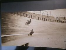 MOTORCYCLE 1910S OVAL BOARDTRACK RACING INDIAN HARLEY DAVIDSON PHOTO RARE OLD