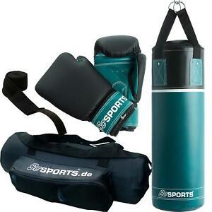 ScSPORTS® Boxsack Set Kinder Jugendliche 5,5 kg gefüllt Boxhandschuhe Sandsack