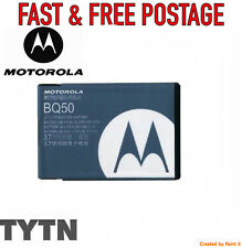*GENUINE* MOTOROLA (BQ50) BATTERY-EM330 VE240 W175 E370 E376 W233 W376 W377 W450