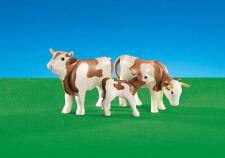 PLAYMOBIL 6356 Vacas con Ternero, Animales, Belen, Navidad, Christmas, Cows