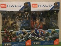 Mega Construx Halo SPARTAN-IV Team Battle & ODST Squad Ambush GCM37 & GCT34 NEW