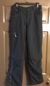 Showers Pass Black Convertible Pants Women's Small