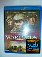 The Warlords Blu-ray movie martial arts action movie Jet Li Andy Lau NEW!