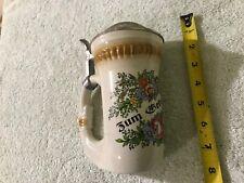 vintage  BEBURTSTAG Beer Steins Glasses