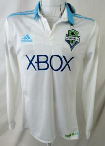 Seattle Sounders FC Mens X-Large Adidas Long Sleeve Born in 74 Jersey SSO 12