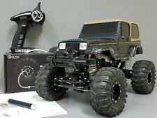 Tamiya Rc 1/10 Jeep Wrangler Cr-01 4Wd Crawler Esc Led 2.4Ghz G-made air system