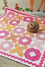 XO Baby Quilt Pattern Pieced TA