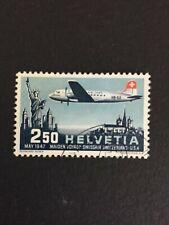 Timbre Suisse, Poste aérienne N°41, Oblitéré, Cote: 22€