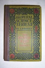 PRUNING-BOOK Training of Plants by L. H. BAILEY, 1912, illustr., Rural Science