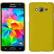Custodia Rigida Samsung Galaxy Grand Prime gommata giallo