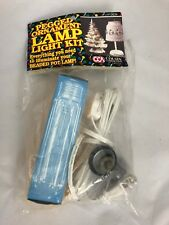 Pegged Ornament Lamp Light Kit #13834 with light bulb 40 watts