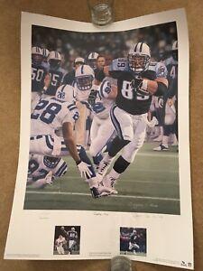 "Douglas C. Hess Tennessee Titans ""Eighty-Nine"" Frank Wycheck Print Num 102/890"