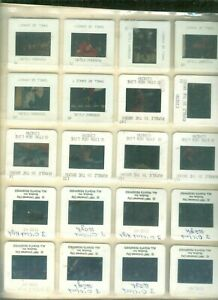 THREE O' CLOCK HIGH- SHALL WE DANCE- RUMBLE IN DOCKS- LOT OF 20 COLOR SLIDES