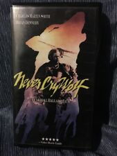 Never Cry Wolf VHS Video Charles Martin Smith Brian Dennehy Clamshell Case 2000