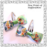Tinker Bell Hair Bows - Pinwheel Bow, Clips, Bobbles - Disney Fairies Tinkerbell