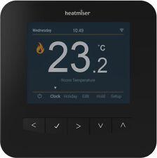 Heatmiser SmartStat Wifi Programmable Room Thermostat -Sapphire Black