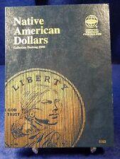 Whitman Native American Dollars #1 Starting 2009 Coin Folder, Album Book # 3163