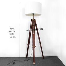 Hollywood Nautical Vintage Antique Marine Decorative Floor Lamp With Tripod