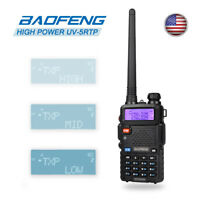 Baofeng UV-5RTP V/UHF Dual Band 2m/70cm Transceiver TriPower 8W HP Two-Way Radio